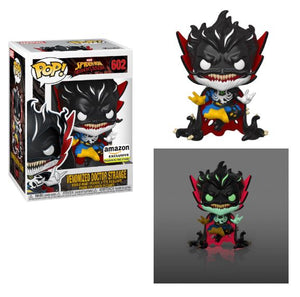 Funko Pop! MARVEL - Maximum Venom #602 - Venomized Dr. Strange (Glow in the Dark) (Exclusive)