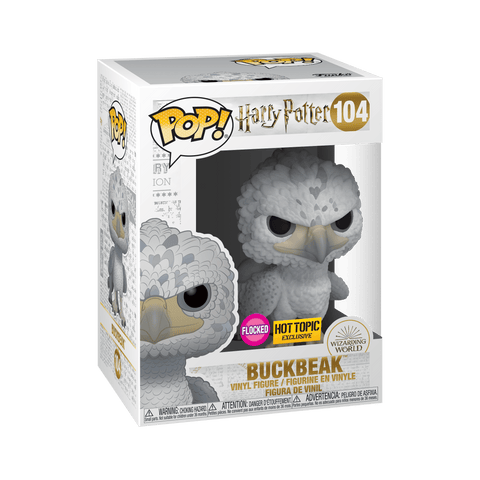 Funko Pop! Movies - Harry Potter #104 - Buckbeak (Flocked) (Exclusive) - Simply Toys