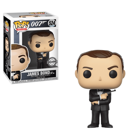 Funko Pop! Movies - James Bond #524 - James Bond (Sean Connery) (Exclusive) - Simply Toys