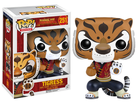 Funko Pop! Movies - Kung Fu Panda #251 - Tigress *VAULTED* - Simply Toys