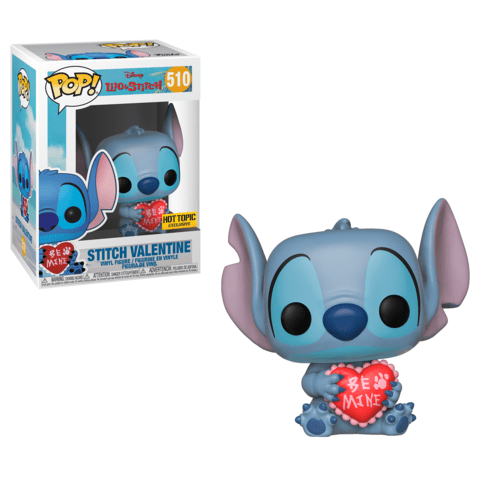 Funko Pop! Movies - Lilo & Stitch #510 - Stitch Valentine (Exclusive) - Simply Toys