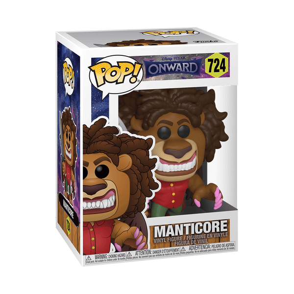 Funko Pop! Movies - Onward #724 - Manticore - Simply Toys