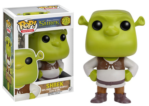 Funko Pop! Movies - Shrek #278 - Shrek *VAULTED* - Simply Toys