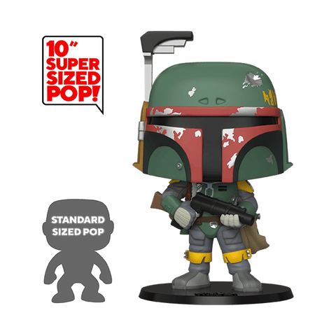 Funko Pop! Movies - Star Wars: The Empire Strikes Back 40th Anniversary #367 - Boba Fett (10 inch) (Exclusive) - Simply Toys