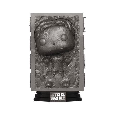 Funko Pop! Movies - Star Wars: The Empire Strikes Back 40th Anniversary #364 - Han Solo (Carbonite) - Simply Toys