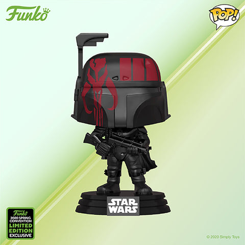 Funko Pop! Movies - Star Wars #297 - Boba Fett (with Case) (ECCC 2020 Convention Exclusive) - Simply Toys