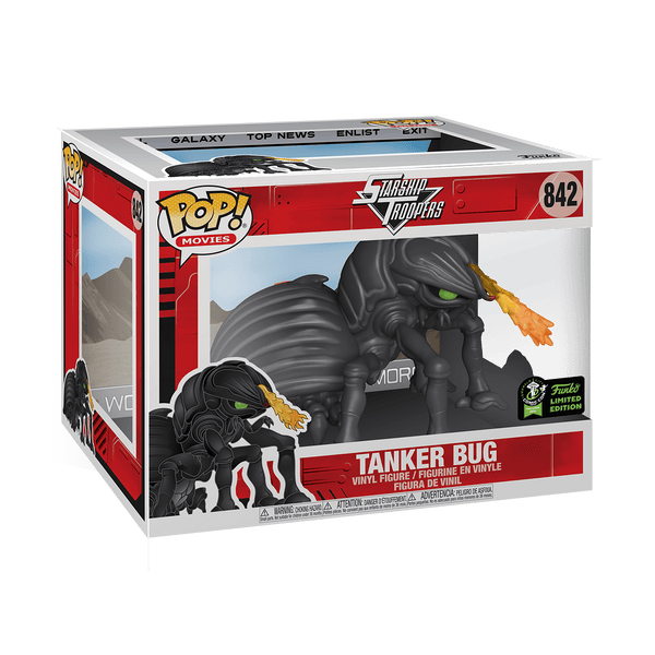 Funko Pop! Movies - Starship Troopers #842 - Tanker Bug (6 inch) (ECCC 2020 Convention Exclusive) - Simply Toys