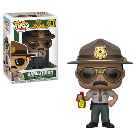 "Funko Pop! Movies - Super Troopers #581 - Trooper Arcot ""Thorny"" Ramathorn - Simply Toys"