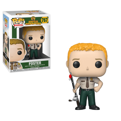 Funko Pop! Movies - Super Troopers #767 - Foster - Simply Toys
