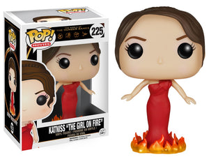Funko Pop! Movies - The Hunger Games #225 - Katniss Everdeen (Girl on Fire) *VAULTED* - Simply Toys