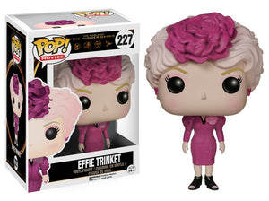 Funko Pop! Movies - The Hunger Games #227 - Effie Trinket *VAULTED* - Simply Toys