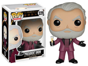 Funko Pop! Movies - The Hunger Games #229 - President Snow *VAULTED* - Simply Toys