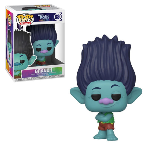 Funko Pop! Movies - Trolls World Tour #880 - Branch - Simply Toys