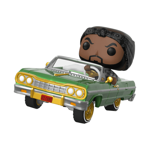 Funko Pop! Rides - Ice Cube #81 - Ice Cube with Impala - Simply Toys