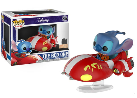 Funko Pop! Rides - Lilo & Stitch #35 - The Red One (Exclusive) - Simply Toys