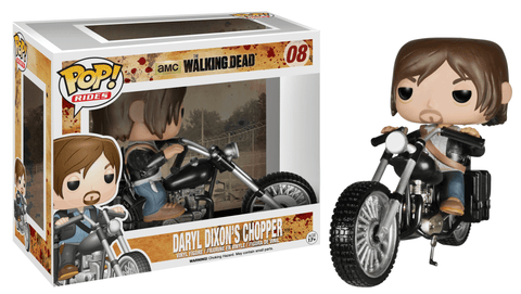 Funko Pop! Rides - The Walking Dead #08 - Daryl Dixon's Chopper - Simply Toys