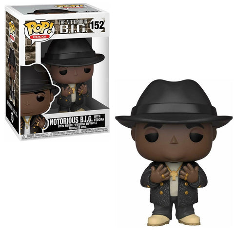 Funko Pop! Rocks - The Notorious B.I.G. #152 - Notorious B.I.G. (with Fedora) - Simply Toys