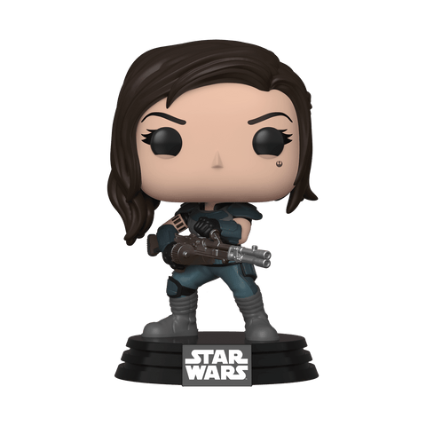 Funko Pop! Star Wars - The Mandalorian #356 - Cara Dune (Heavy Blaster) (Exclusive) - Simply Toys