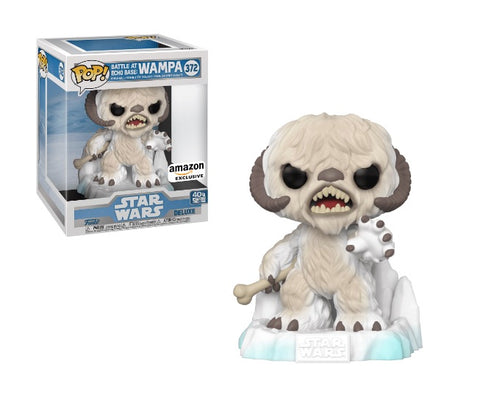 Funko Pop! Star Wars - Star Wars: Empire Strikes Back 40th Anniversary #372 - Battle at Echo Base: Wampa (Deluxe) (Exclusive)