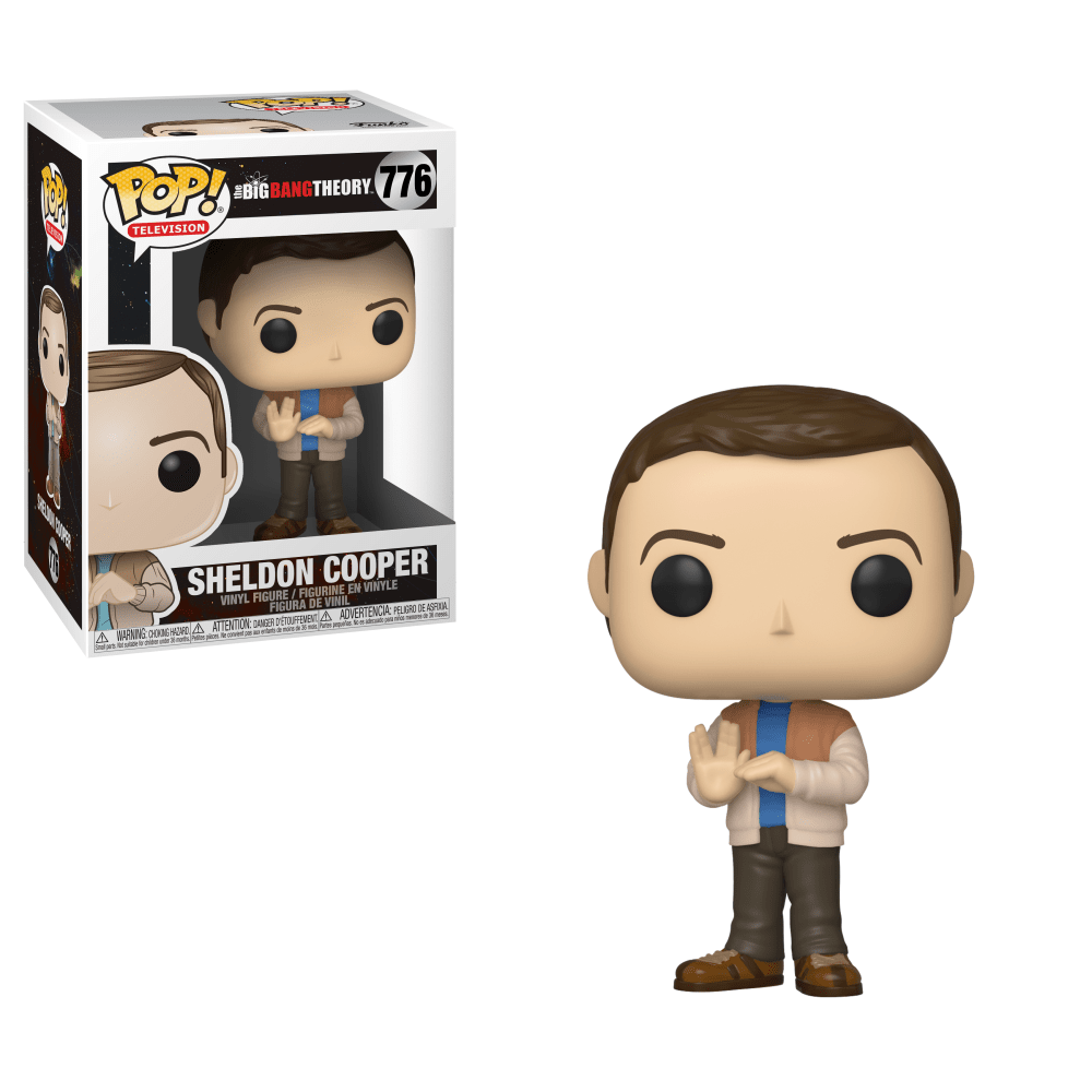 Funko Pop! Television - Big Bang Theory #776 - Sheldon Cooper - Simply Toys