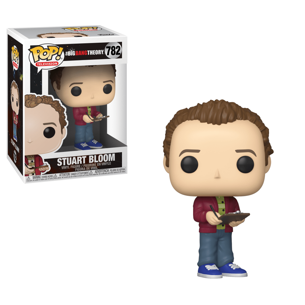 Funko Pop! Television - Big Bang Theory #782 - Stuart Bloom - Simply Toys