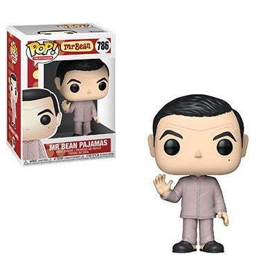 Funko Pop! Television - Mr. Bean #786 - Mr. Bean (in Pajamas) - Simply Toys