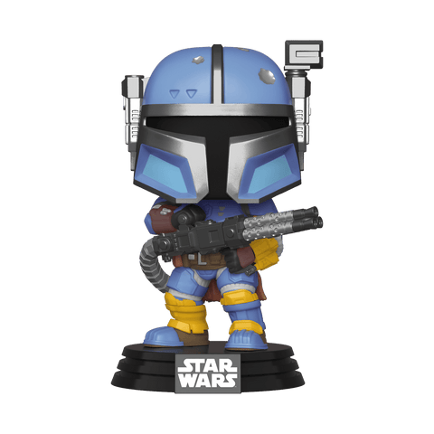 Funko Pop! Star Wars - The Mandalorian #348 - Heavy Infantry Mandalorian - Simply Toys