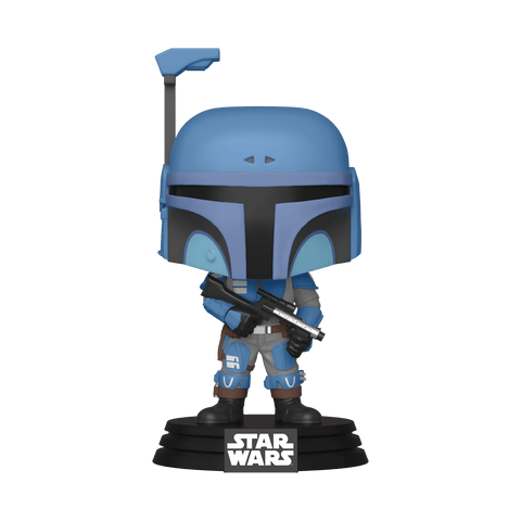 Funko Pop! Star Wars - The Mandalorian #354 - Death Watch Mandalorian (Two Stripes) (Exclusive) - Simply Toys