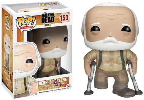 Funko Pop! Television - The Walking Dead #153 - Hershel Greene *VAULTED* - Simply Toys