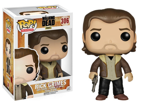 Funko Pop! Television - The Walking Dead #306 - Rick Grimes *VAULTED* - Simply Toys