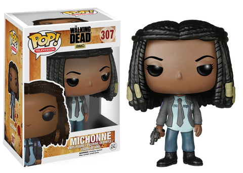 Funko Pop! Television - The Walking Dead #307 - Michonne (as Cop) *VAULTED* - Simply Toys