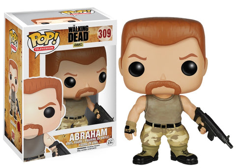 Funko Pop! Television - The Walking Dead #309 - Abraham Ford *VAULTED* - Simply Toys