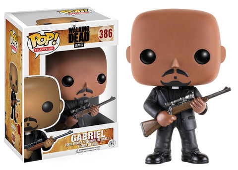 Funko Pop! Television - The Walking Dead #386 - Gabriel Stokes *VAULTED* - Simply Toys