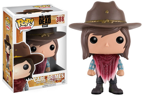 Funko Pop! Television - The Walking Dead #388 - Carl Grimes (Cowboy) - Simply Toys