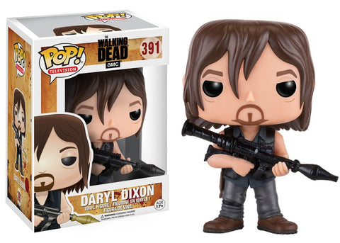 Funko Pop! Television - The Walking Dead #391 - Daryl Dixon (with Rocket Launcher) *VAULTED* - Simply Toys