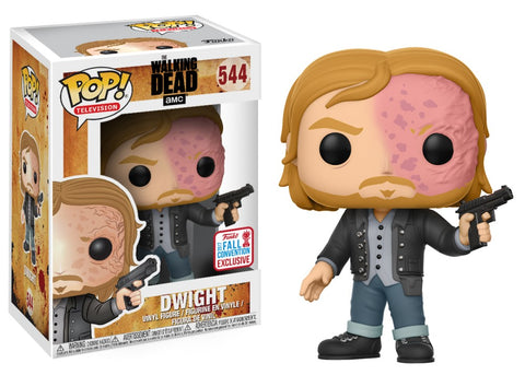 Funko Pop! Television - The Walking Dead #544 - Dwight (Burnt Face) (Fall Convention 2017 Exclusive) *VAULTED* - Simply Toys