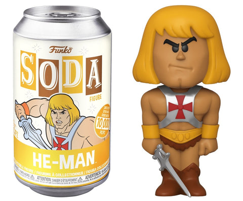Funko SODA - Masters of the Universe - He-Man
