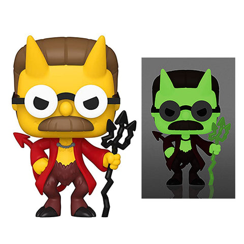 Funko Pop! Animation – The Simpsons #1029 – Devil Flanders (Glow In The Dark) (Exclusive)