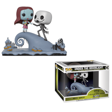 Funko Pop! Movie Moments - The Nightmare Before Christmas - Under The Moonlight (Jack & Sally) - Simply Toys