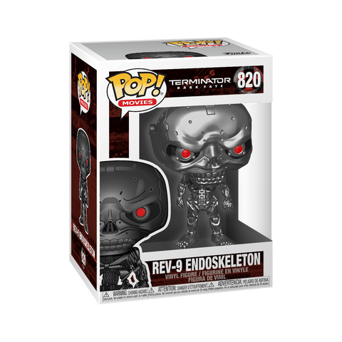 Funko Pop! Movies - Terminator: Dark Fate #820 - Rev-9 Endoskeleton - Simply Toys