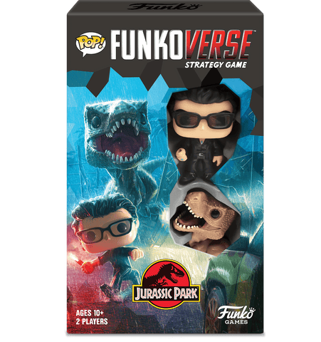 Funko Pop! - Funkoverse Strategy Game - Jurassic Park (2 Pack)