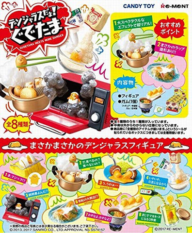 Re-Ment Sanrio - Gudetama Meets More Danger (Set of 8) - Simply Toys