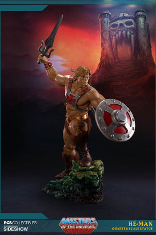 Pop Culture Shock Masters of The Universe 1/4 Scale Statue - He-Man (Limited 700 worldwide) - Simply Toys