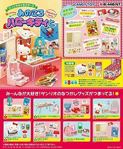 Re-Ment Sanrio - Hello Kitty Items/Goods (Set of 8) - Simply Toys