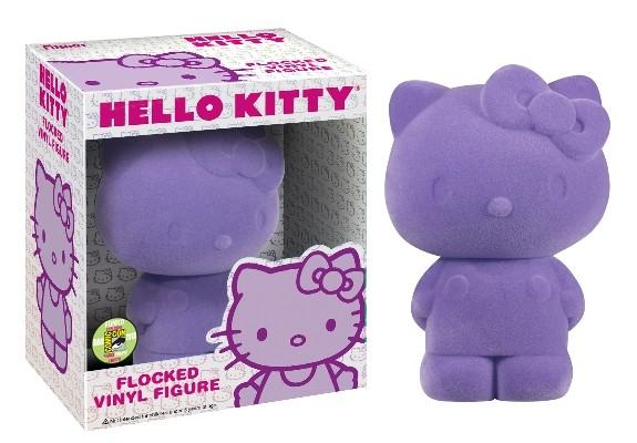 Funko Pop! Animation – Sanrio – Hello Kitty (Flocked) (Purple) (Exclusive) - Simply Toys