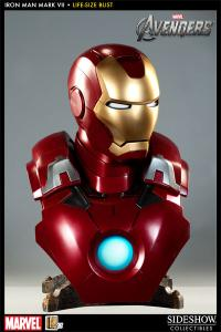 Sideshow Collectibles MARVEL Life-Size Bust - Iron Man MK VII - Simply Toys
