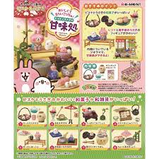 Re-Ment Kanahei - Kanahei Sweets Cafe (Set of 8) - Simply Toys