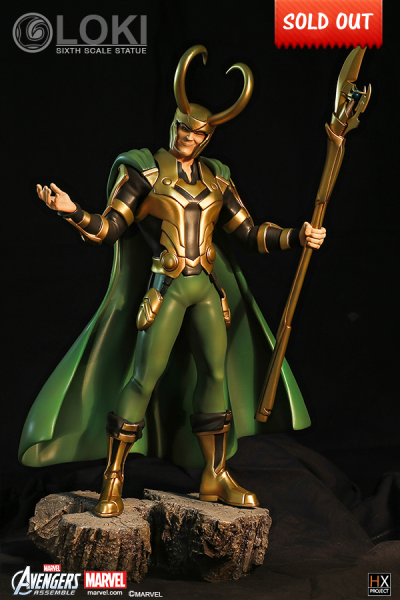 HX PROJECT: Avengers Assemble 1/6 Scale Statue - Loki (Limited 500 Piece) - Simply Toys