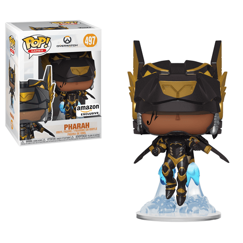 Funko Pop! Games - Overwatch #497 - Pharah (Anubis) (Exclusive) - Simply Toys