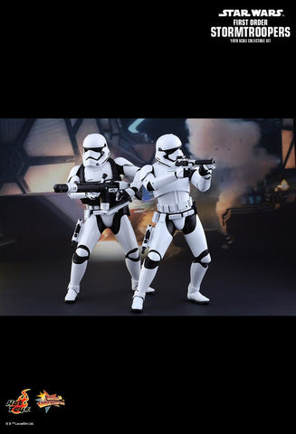 Hot Toys Star Wars: The Force Awakens 1/6 Scale Collectible Figure - First Order Stormtroopers (2 pack) - Simply Toys